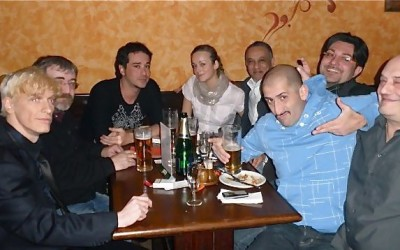"2009 - ""Ambrózie Music Club"", Prague 10 - friends..."